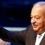 Den mexicanske mangemilliardær Carlos Slim står bag mobilgiganten América Móvil og er verdens næstrigeste mand. Arkivfoto: Edgard Garrido, Reuters/Scanpix
