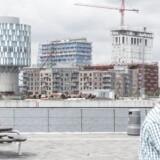 Det nye kvarter i den nordlige ende af Københavns Havn ser ud til at blive et af byens dyreste kvarterer.