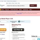 Tak for 15 års støtte, lyder den stilfærdige meddelelse på forsiden af Winamp.com, som dermed signalerer afslutningen på 15 års net- og musikhistorie.