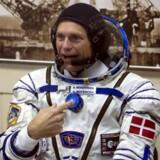 Da Danmarks første astronaut, Andreas Mogensen, gik i luften, skabte det fornyet interesse om rumfartsteknologi. For danske virksomheder rummer erhvervet et stort potentiale. Nu øges fokus atter, efter at regeringen har udsendt sin rumplan: »Danmarks nationale strategi for rummet«. Foto: Shamil Zhumatov/Reuters