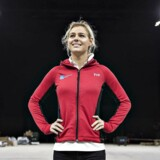 Pernille Blume modtager prisen som årets sportsnavn