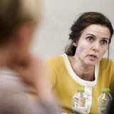 Som ny sundhedsminister skal Ellen Thrane Nørby forklare nedskæringer på fødegangen. (Foto: Liselotte Sabroe/Scanpix 2016)