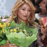 Gulnara Karimova, datter af den usbekiske præsident og tidligere ansvarlig for telemarkedet i landet, modtog gennem et skuffeselskab i Gibraltar et trecifret millionbeløb i bestikkelse fra teleselskaber, der ville købe en 3G-mobillicens i landet. Arkivfoto: Sergei Ilnitsky, EPA/Scanpix