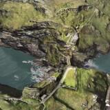 Forskerne er usikre på Kong Arthurs historicitet og kender ikke slottet Camelots virkelige beliggenhed. Men udgravninger på halvøen Tintagel i Cornwall tegner godt for det videre arbejde næste år. Foto: English Heritage