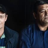 ARKIVFOTO 2014 af Søren Lyngbjørn og Eddy Lopez (th)
