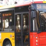 Arkivfoto. Trafikselskabet Movia har valgt at pille en række reklamer, som kritiserer israelske bosættelser, af deres busser.
