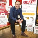 David Buttress, øverste direktør hos Just Eat, har fortsat tiltro til, at online take away-platformen kan udvikle forretningen på trods af stadig mere konkurrence.