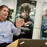 Mere streaming over internetforbindelsen presser behovet for højere internethastigheder op, og YouSees administrerende direktør, René Brøchner, kan nu tilbyde alle kunder hastigheder, der er tre gange højere end regeringens mål for 2020. Arkivfoto: Nils Meilvang, Scanpix