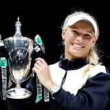 Med Caroline Wozniackis triumf i WTA Finals følger en præmiecheck på mere end 14 millioner kroner.