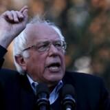 Bernie Sanders mener, at partitoppen modarbejder ham. Arkivfoto.