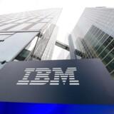 IBM-aktien faldt 3,8 pct. i eftermarkedet efter et fald på 1,5 pct. i den ordinære handel.