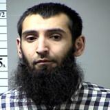 Sayfullo Saipov er anklaget for otte drab, 12 drabsforsøg og for at støtte Islamisk Stat. Handout/arkiv/Reuters
