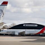 Great Dane Airlines' fly har som de fleste andre luftfartsselskabers fly holdt stille under coronakrisen, men snart kan de komme på vingerne.