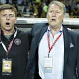 Arkivfoto. Jon Dahl Tomassons nye kontrakt som assistenttræner for fodboldlandsholdet løber til og med sommeren 2020.