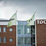 TDC står stadig med betydelige udfordringer i Danmark med mørke skyer i horisonten men kan glæde sig over sin norske investering, som igen redder regnskabet. Arkivfoto: Torkil Adsersen, Scanpix