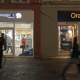 Bouygues Telecom og Orange.