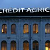 Arkivfoto. rankrigs tredjestørste bank, Credit Agricole, pønser på at sælge en stor aktiepost i den saudiske bank, Banque Saudi Fransi.