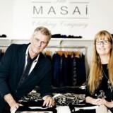 Stifterne af Masai, søskendeparratet Nina og Hans Rye, solgte tøjbrandet til kapitalfonden Silverfleet.