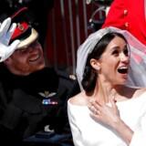Officielt er parret tildelt titlerne hertug og hertuginde af Sussex. /TPX IMAGES OF THE DAY