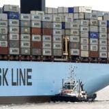 Arkivfoto: Det bliver - med en hel del forsinkelse - nu alligevel muligt for Maersk Line og andre containerrederier at få fragtet last til Qatar trods naboernes boykot af landet.