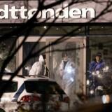 Omar El-Hussein affyrede 28 skud med en fuldautomatisk riffel på Kulturhuset Krudttønden på Østerbro, hvor blandt andre den svenske Muhammed-tegner Lars Vilks deltog. Arkivfoto.