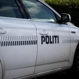 Forbipasserende på havnen i Kerteminde blev mandag eftermiddag mødt af et uhyggeligt syn. Free/Colourbox