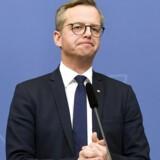 Sveriges erhvervsminister, Mikael Damberg, har indkaldt Telias ledelse til en kammeratlig samtale fredag. Arkivfoto: Fredrik Sandberg, EPA/Scanpix