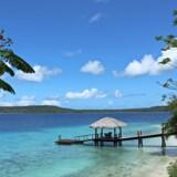 Vanuatu ligger midt ude i Stillehavet med Ny Kaledonien og Fiji som nærmeste naboer. Men smukt er det. Fotos: Villads Kok Mortensen.