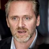 Udenrigsminister Anders Samuelsen (LA) orienterer pressen på Christiansborg i København efter statsminister Lars Løkke Rasmussens pressemøde i spejlsalen, tirsdag den 9. januar 2018.