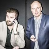 Manden bag Onfone, Morten Strunge (tv), går sammen med Fullrate-medstifter Peter Mægbæk (th) og laver et nyt teleselskab i Danmark, Plenti.