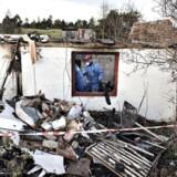 En 33-årig deltidsbrandmand mand fra Fjerritslev er tiltalt for at stå bag 33 brande. Blandt andet en brand på Thistedvej i Fjerritslev, hvor en 89-årig kvinde måtte reddes ud. (Foto: Henning Bagger/Scanpix 2016)