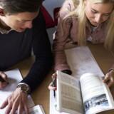 På Øregård Gymnasium nord for København får ingen af eleverne i de 1.g.-klasser, der begynder efter sommerferien, karakterer i det første halve års grundforløb.