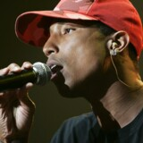 Pharrell Williams udgør sammen med Chad Hugo og Shae Haley gruppen N.E.R.D. Scanpix/Bertrand Guay