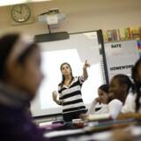 En stor del af de amerikanske børn går slet ikke i skole. Hele 2,5 millioner af dem bliver undervist hjemme af deres forældre.