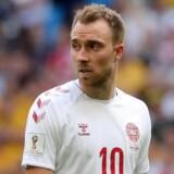 Christian Eriksen har været involveret i Danmarks to scoringer hidtil ved VM. I åbningskampen mod Peru lagde han op til Yussuf Poulsens sejrsmål til 1-0, mens han selv scorede i 1-1-kampen mod Australien. Pilar Olivares/Reuters