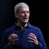 Ja, når du nu ligefrem spørger, så går det faktisk ret godt for os i Kina, skriver Apples topchef, Tim Cook, i en overraskende mail til en TV-vært. Arkivfoto.