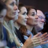 I disse dage debatteres kvinders rettigheder og mangel på samme. Bella Center i København danner rammen om verdenskonferencen Women Deliver, og Berlingske har i den anledning spurgt otte kvinder om, hvad de ser som den største nationale og globale udfordring.(Foto: Liselotte Sabroe/Scanpix 2016)
