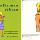 Illustrationer fra børnebogen »Sådan får man et barn« fra 1971 af Per Holm Knudsen er blevet delt over 150.000 gange på Facebook.