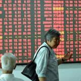 Arkivfoto. De asiatiske aktiemarkeder er malet med rødt fredag morgen, hvor regionens største marked - Tokyo - ligger under for en styrkelse af den japanske valuta.