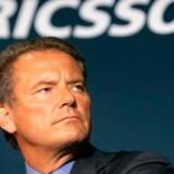 Det blev ingen exit i stråleglans for Ericssons topchef, Carl-Henric Svanberg. Foto: Robert Galbraith, Reuters/Scanpix