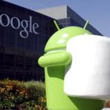 Den er god nok: Næste udgave af Googles mobilstyresystem Android bliver ... en skumfidus! Foto: EPA/Google/Scanpix