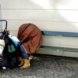 Et skærpet zoneforbud skal gøre det muligt at udelukke hjemløse gadesovere fra en hel kommune. Foto: Bjarke Ørsted
