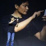 Lei Jun, der er stifter og administrerende direktør i den kinesiske teknologigigant Xiaomi, hyldes som en teknologiguru i hjemlandet. Her er han i juli til lanceringen af en ny »Mi«-smartphone.