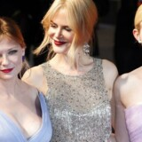 Kirsten Dunst , Nicole Kidman og Elle Fanning til aftenens gallapremiere på »The Beguiled«.
