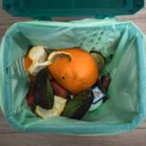 Københavnerne er gode til at bruge den grønne skraldespand med nedbrydelige poser, så hele affaldet kan genanvendes b.la. til gas.