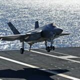Den amerikanske våben- og sikkerhedskæmpe Lockheed Martin er kendt som leverandør af flyvevåbnets næste kampfly, F-35, men har også en stor energidivision, som netop har rekognoseret i Danmark. Arkivfoto: Mike Blake/Reuters