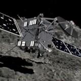 Kometjægeren Rosetta.