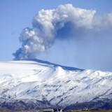 Arkivfoto. Vulkanen Eyjafjallajökull i udbrud i 2010.