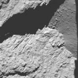 Kometen fra 11,7 kilometers højde, optaget i morges kl. 7.25 dansk tid.