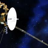 Den ene af NASAs to Voyager-rumsonder, der blev opsendt for 40 år siden.